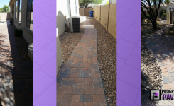 Chandler, AZ Cambridge and Monterrey Paver Installation